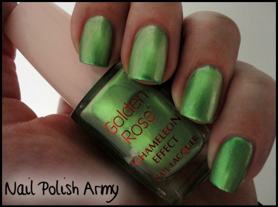Golden Rose Chameleon Effect 21, green-yellow duochrome